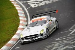 First victory of the SLS AMG GT3 at the Nürburgring-Nordschleife in 2010