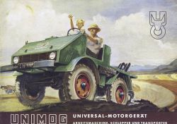 Mercedes-Benz has been producing the Unimog for the last 60 years