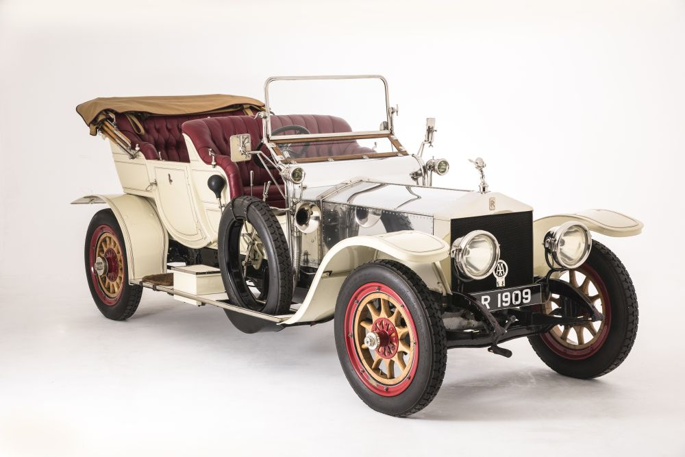 Luxury of Motoring 1909 Rolls-Royce Silver Ghost