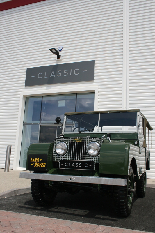 Jaguar Land Rover Classic Works4